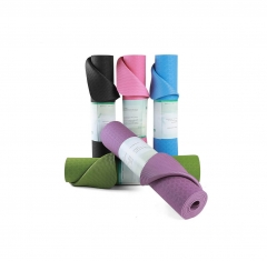 Eco Friendly TPE Yoga Mats Non Slip 6mm