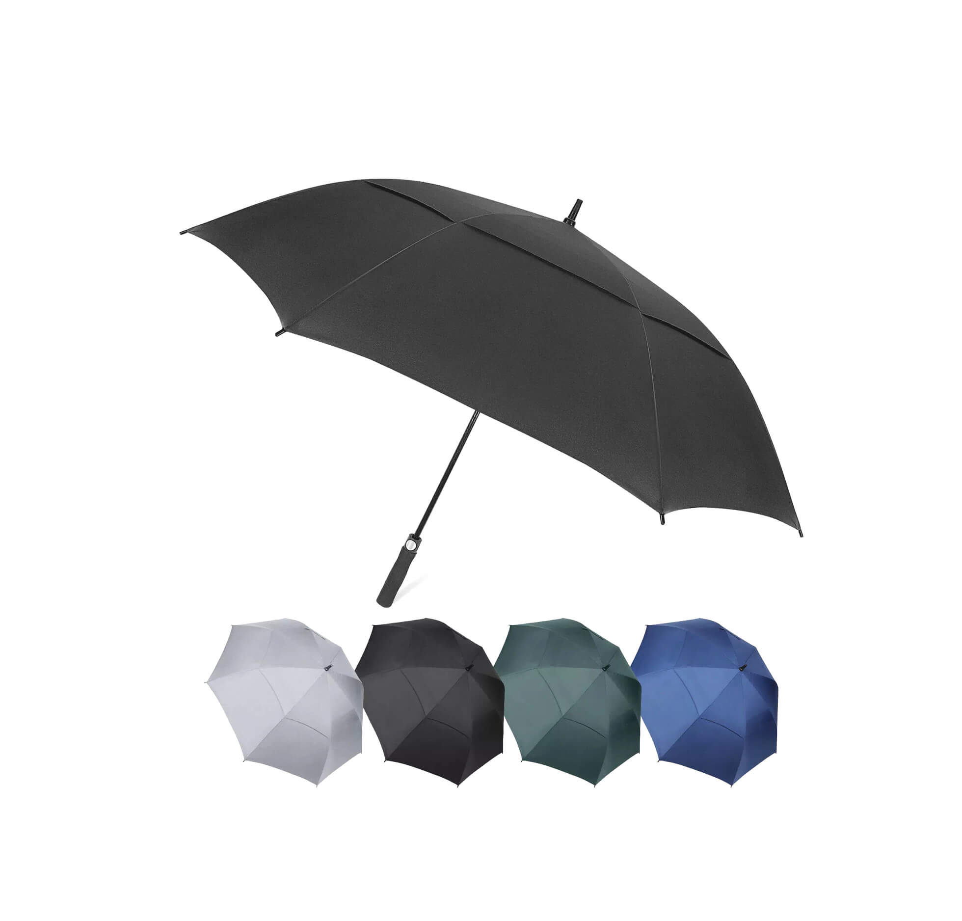 Windproof Automatic Open Golf Umbrella 62