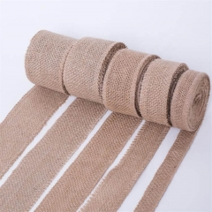 Brown Jute Cloth Jute Fabrics for Decoration