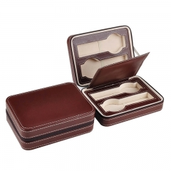 Fashion Travel PU Leather Watch Box Leather Watches Case