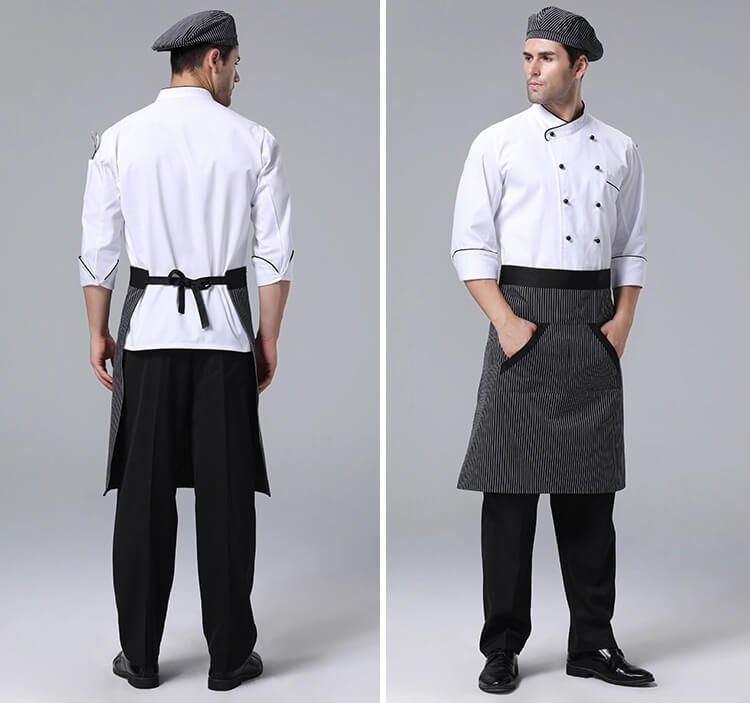 Hotel Executive Chef Uniform back