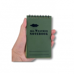 Waterproof All Weather Tactical Notebook Olive Gre...