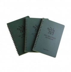 5 x 7 Inch Waterproof Notebook,All-Weather Pocket ...
