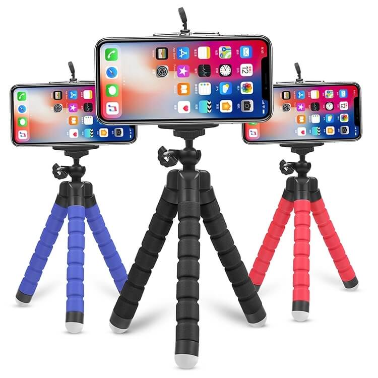 Octopus tripod is suitable for iPhone and Android Phone