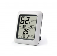 Digital Room Thermo Hygrometer with Comfort Level